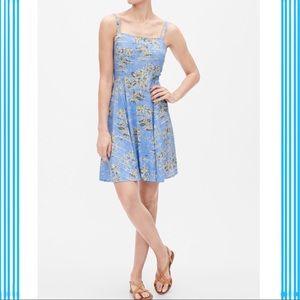 """🆕 Print Cami Dress """" Blue Hawaiian Print """""""